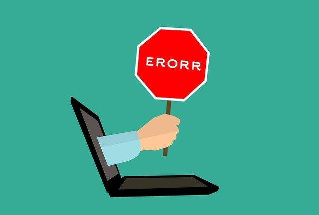 Website Mistakes
